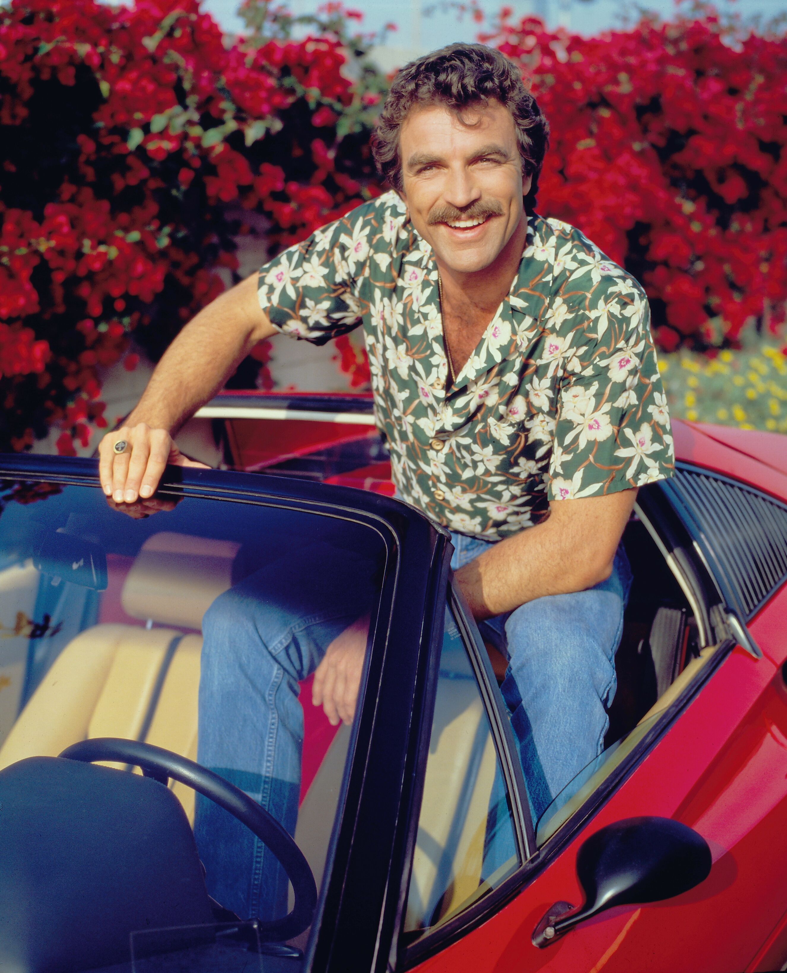 """Tom Selleck as Thomas Magnum in """"Magnum P.I."""" circa 1981 