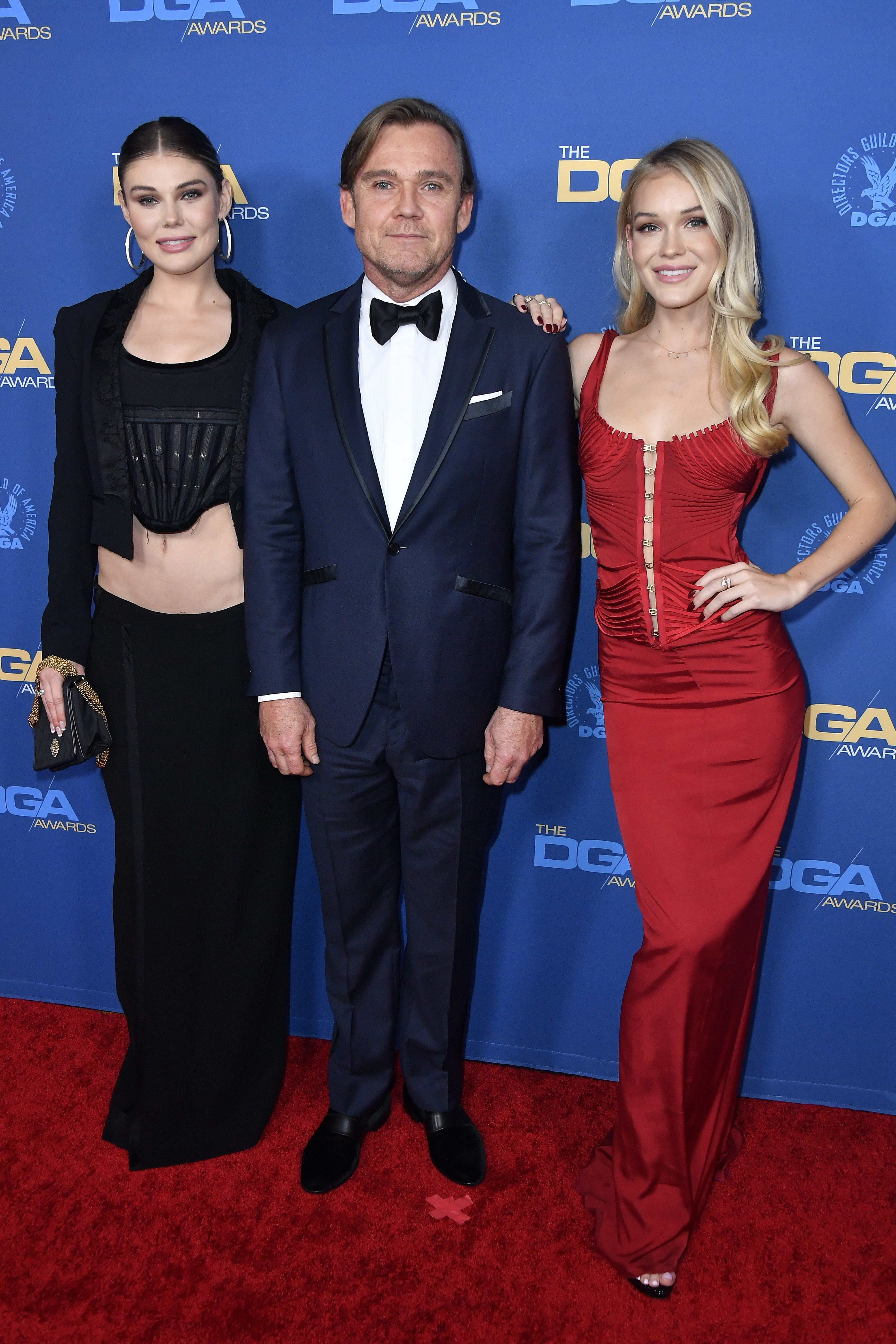 Cambrie Schroder, Ricky Schroder, and Faith Anne Schroder arrive for the 72nd Annual Directors Guild Of America Awards at The Ritz Carlton on January 25, 2020 | Photo: Getty Images
