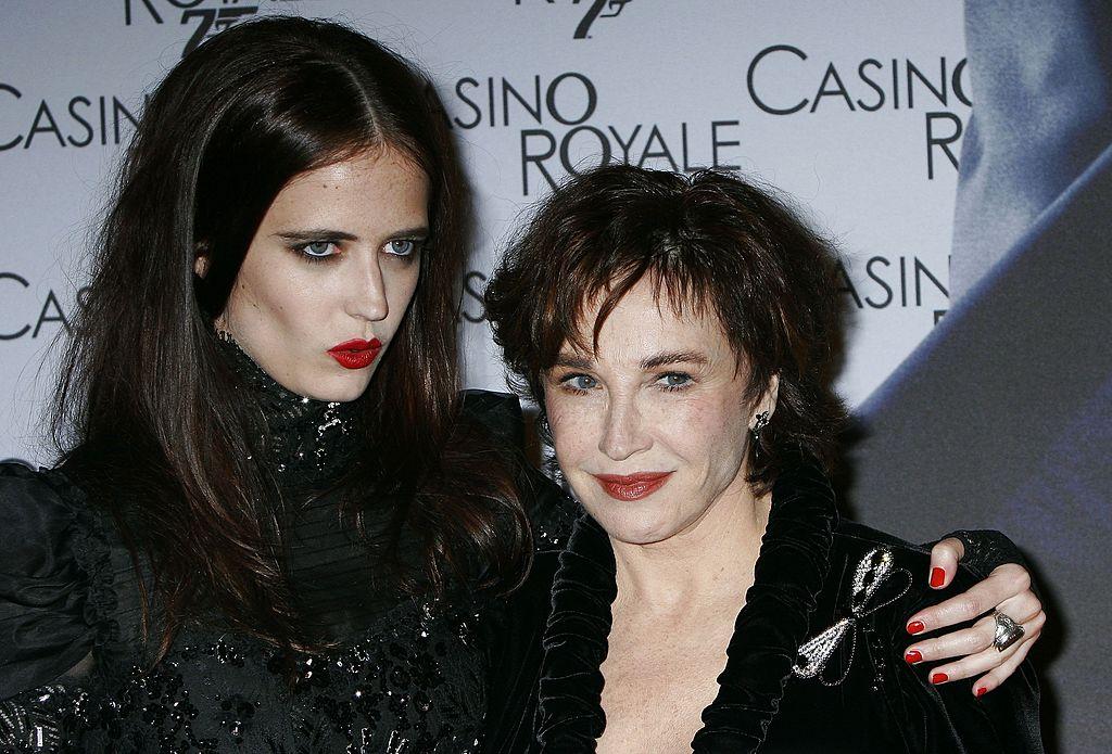 Eva Green et sa mère Marlène Jobert en 2006. Source : Getty Images
