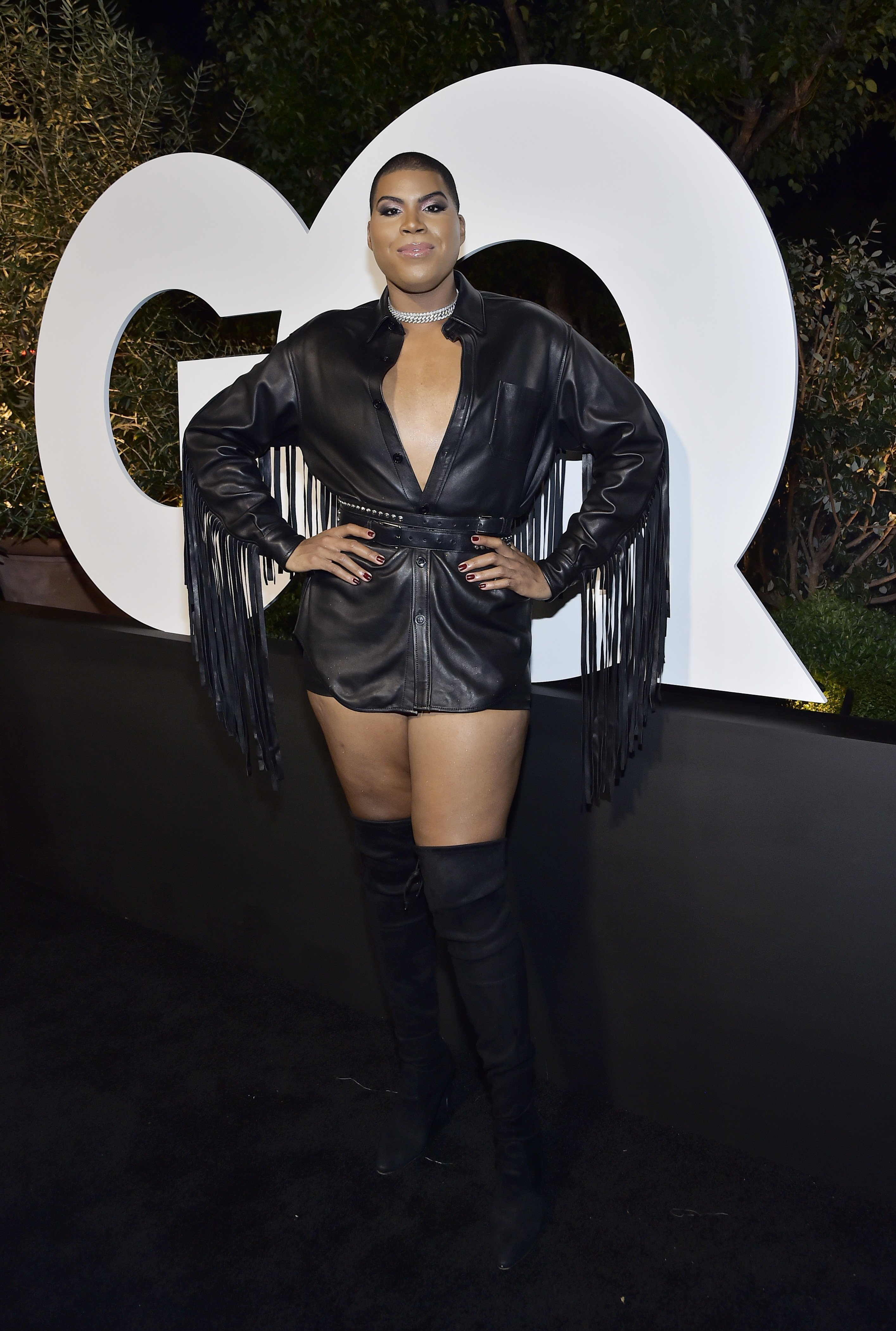EJ Johnson a the 2019 GQ Men of the Year celebration on December 05, 2019 in West Hollywood, California   Photo: Getty Images