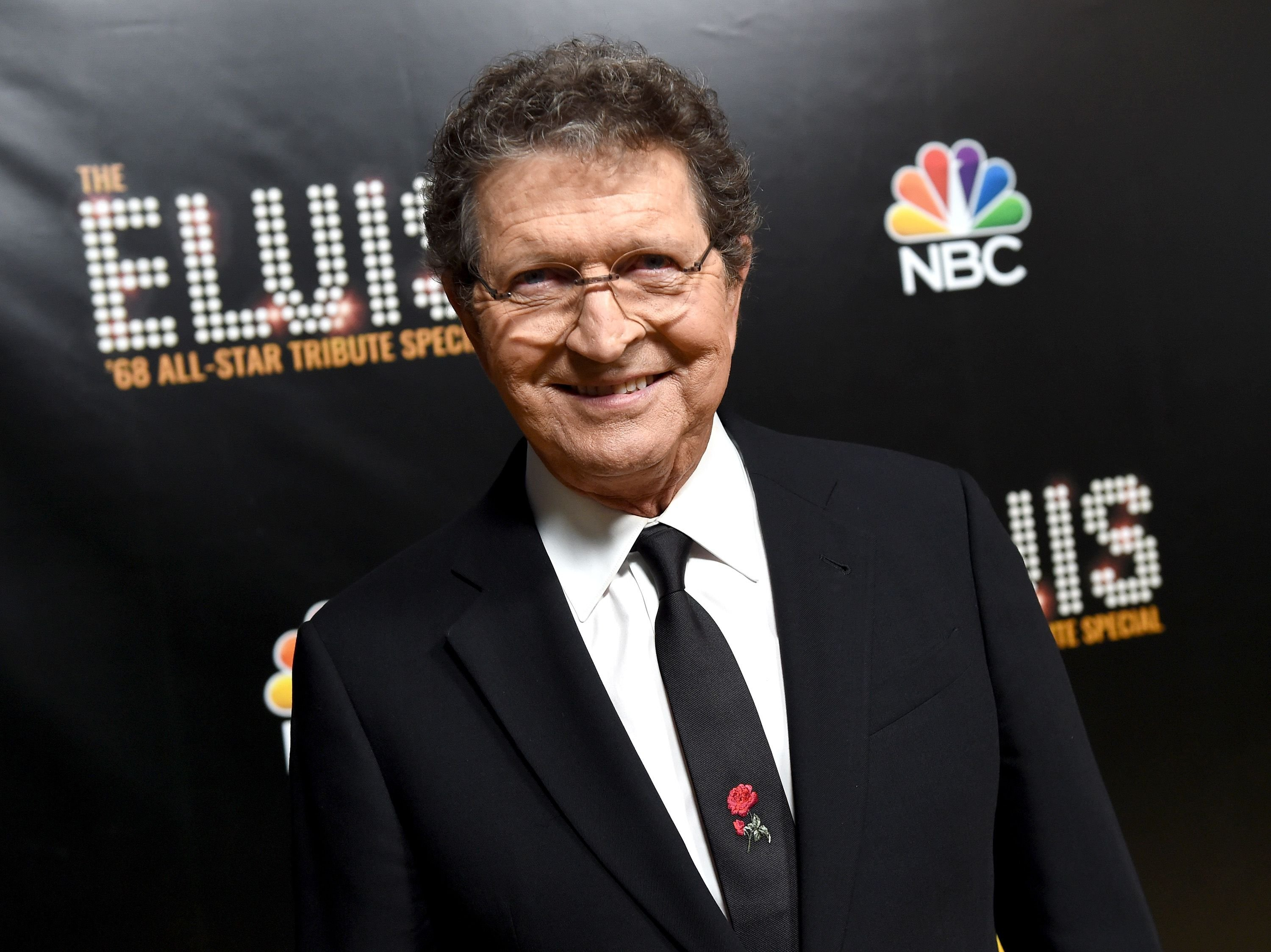 Mac Davis at The Elvis '68 All-Star Tribute Special at Universal Studios on October 11, 2018 | Photo: Getty Images