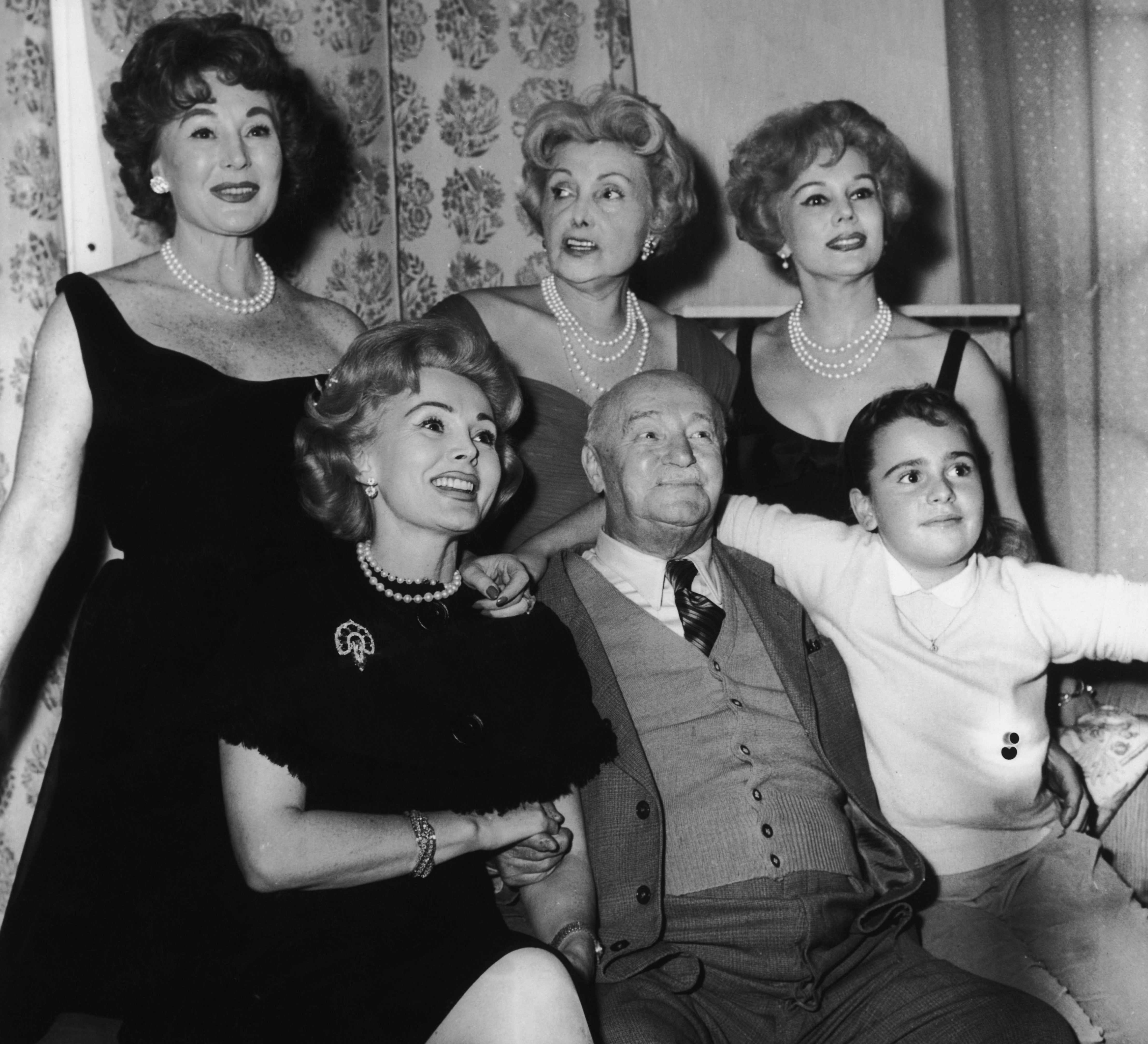 The Famous Gabor Family | Photo: Getty Images