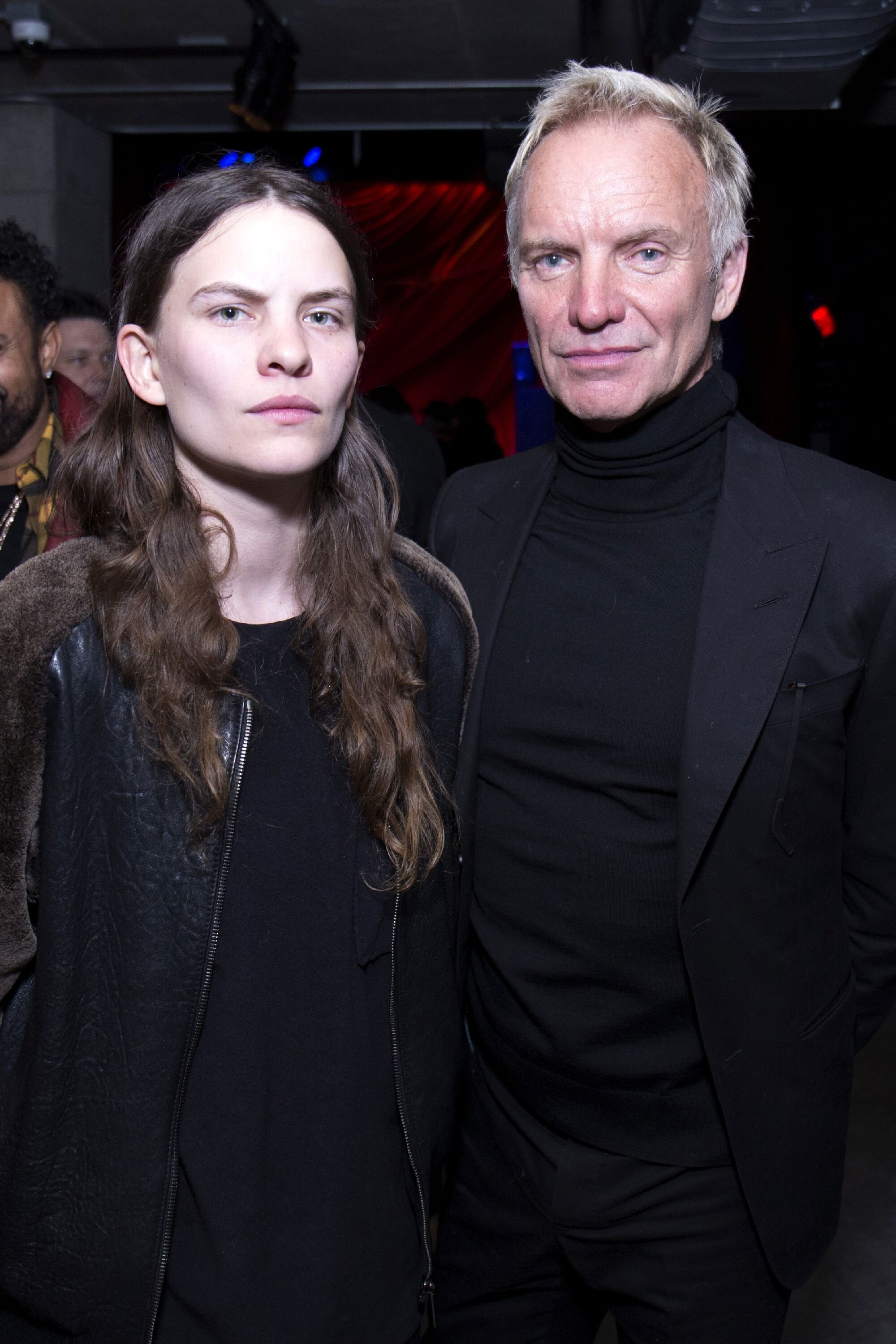"""Eliot Sumner and Sting attend the premiere of IFC Films' """"Freak Show"""" after party. 