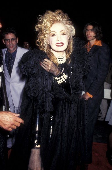"""Julie Newmar the """"To Wong Foo, Thanks for Everything, Julie Newmar"""" premiere on September 6, 1995 at the Ziegfeld Theater in New York City, New York. 