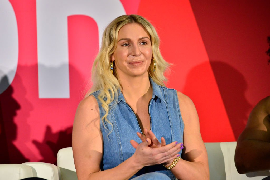 WWE Superstar Charlotte Flair at 2019 VidCon at Anaheim Convention Center on July 11, 2019 | Photo: Getty Images