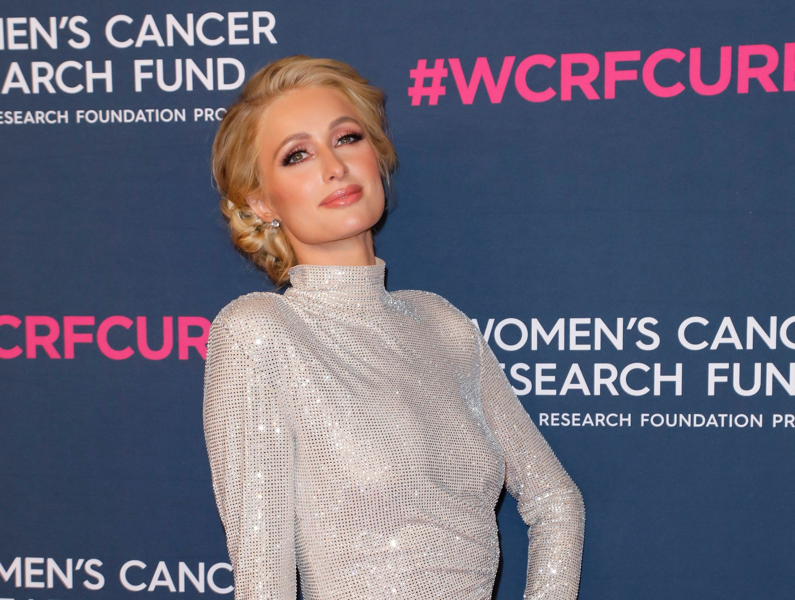 Paris Hilton at The Women's Cancer Research Fund's Unforgettable Evening 2020 at Beverly Wilshire on February 27, 2020 | Getty Images
