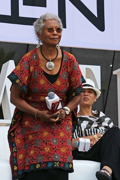 Alice Walker at Monumento a la Revolucion on March 17, 2018 | Photo: Getty images