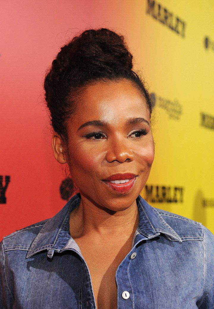 "Cedella Marley arrives for the premiere of Magnolia Picture's ""Marley"" at ArcLight Hollywood on April 17, 2012 in Hollywood, California. I Image: Getty Images."