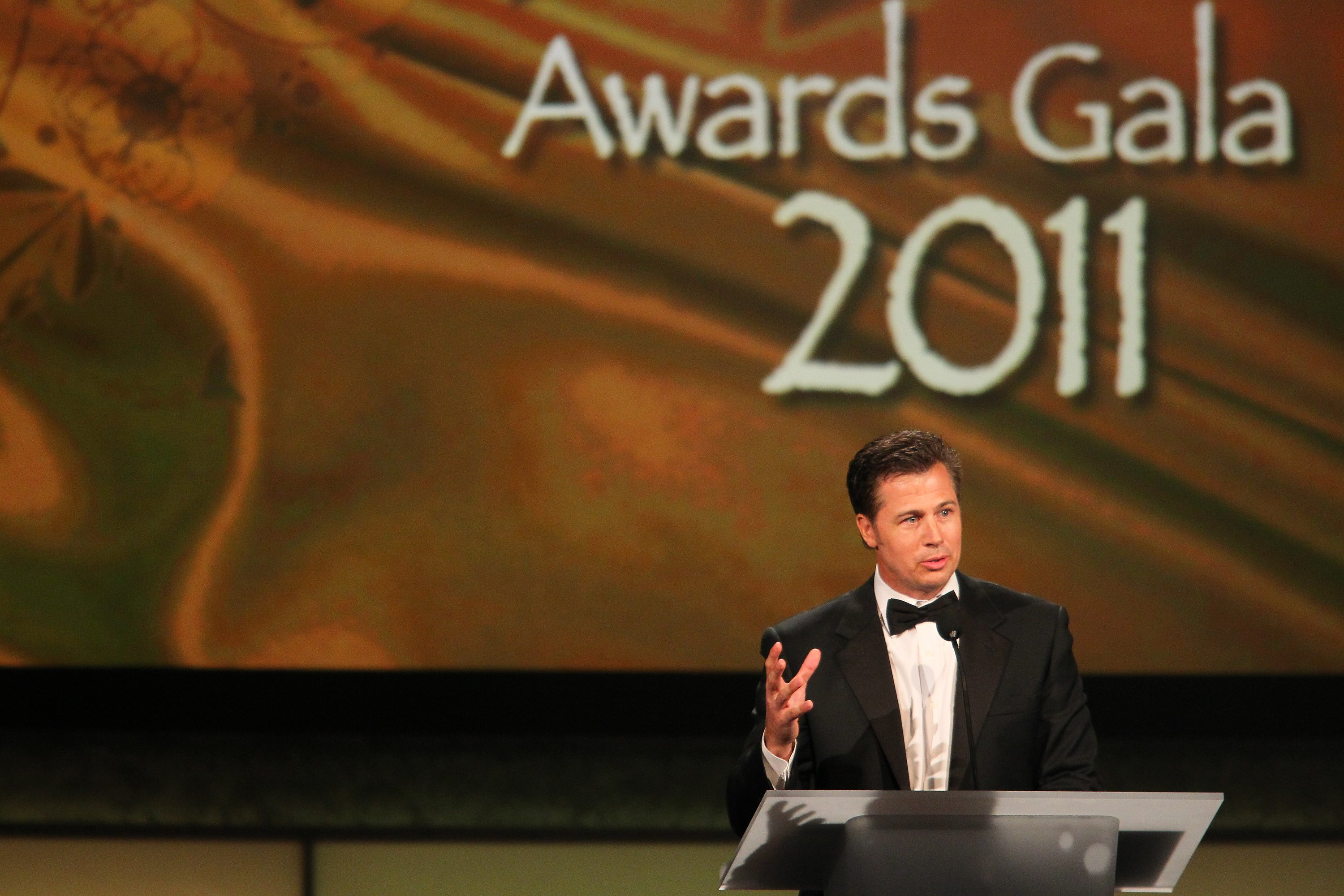 "Doug Pitt attends the Starkey Hearing Foundation's ""So The World May Hear Awards Gala"" 2011. 