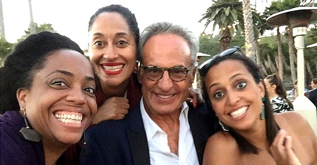Tracee Ellis Ross & Her 2 Sisters Pose with Their Dad Robert in Rare Photos on Father's Day
