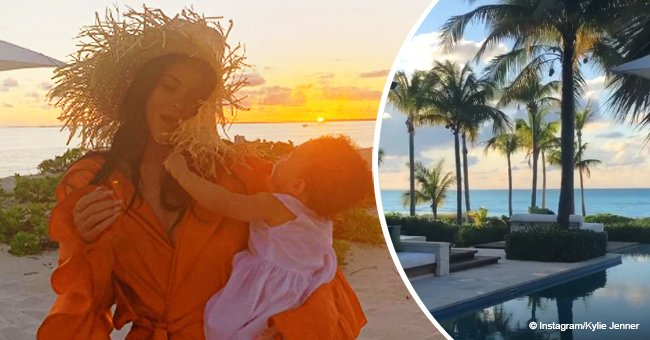 Kylie Jenner celebrates Stormi's first birthday with luxury tropical vacation in adorable photos