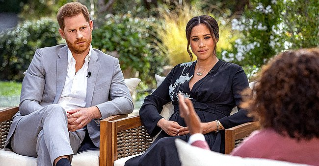 Meghan & Harry's Oprah Tell-All Closely Mirrors Princess Diana's Bombshell Panorama Interview