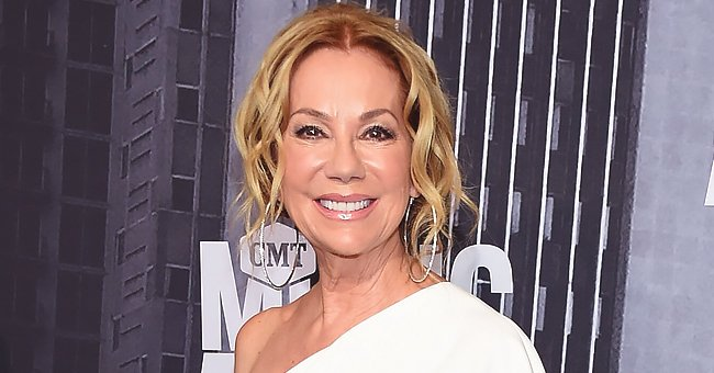 Kathie Lee Gifford from 'Today' Poses with Her Kids & Their Partners in 'Celebrity Family Feud' Photo