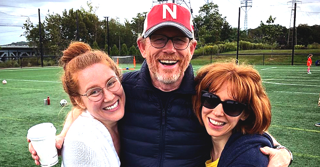 Ron Howard Hugs His Twin Daughters in a Rare Family Photo