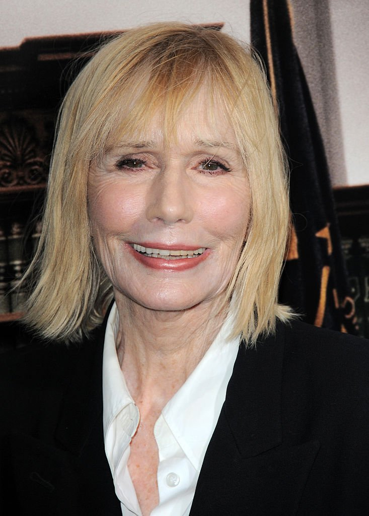 "Sally Kellerman arrives for the Premiere Of Warner Bros. Pictures And Village Roadshow Pictures' ""The Judge"" held at AMPAS Samuel Goldwyn Theater  