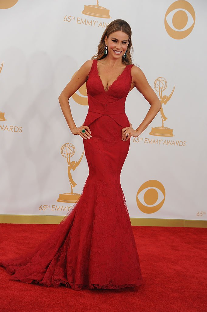Sofia Vergara attends the Primetime Emmy Awards in Los Angeles on September 22, 2013 | Photo: Getty Images