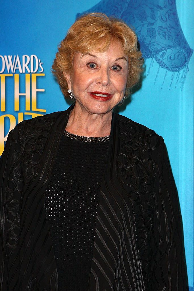 Michael Learned during Noel Coward's 'Blithe Spirit' at Ahmanson Theatre on December 14, 2014 in Los Angeles, California. | Source: Getty Images