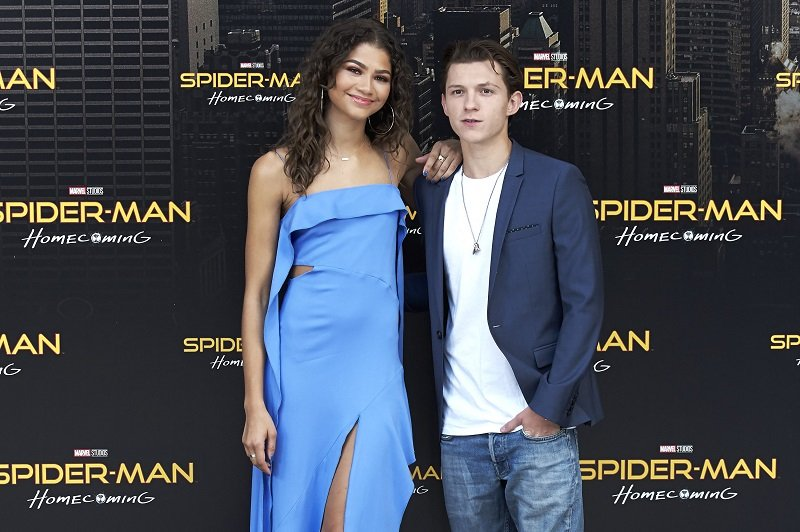 Zendaya and Tom Holland on June 14, 2017 in Madrid, Spain | Photo: Getty Images