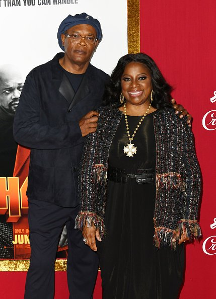 Samuel L. Jackson and LaTanya Richardson at AMC Lincoln Square Theater on June 10, 2019 in New York City. | Photo: Getty Images
