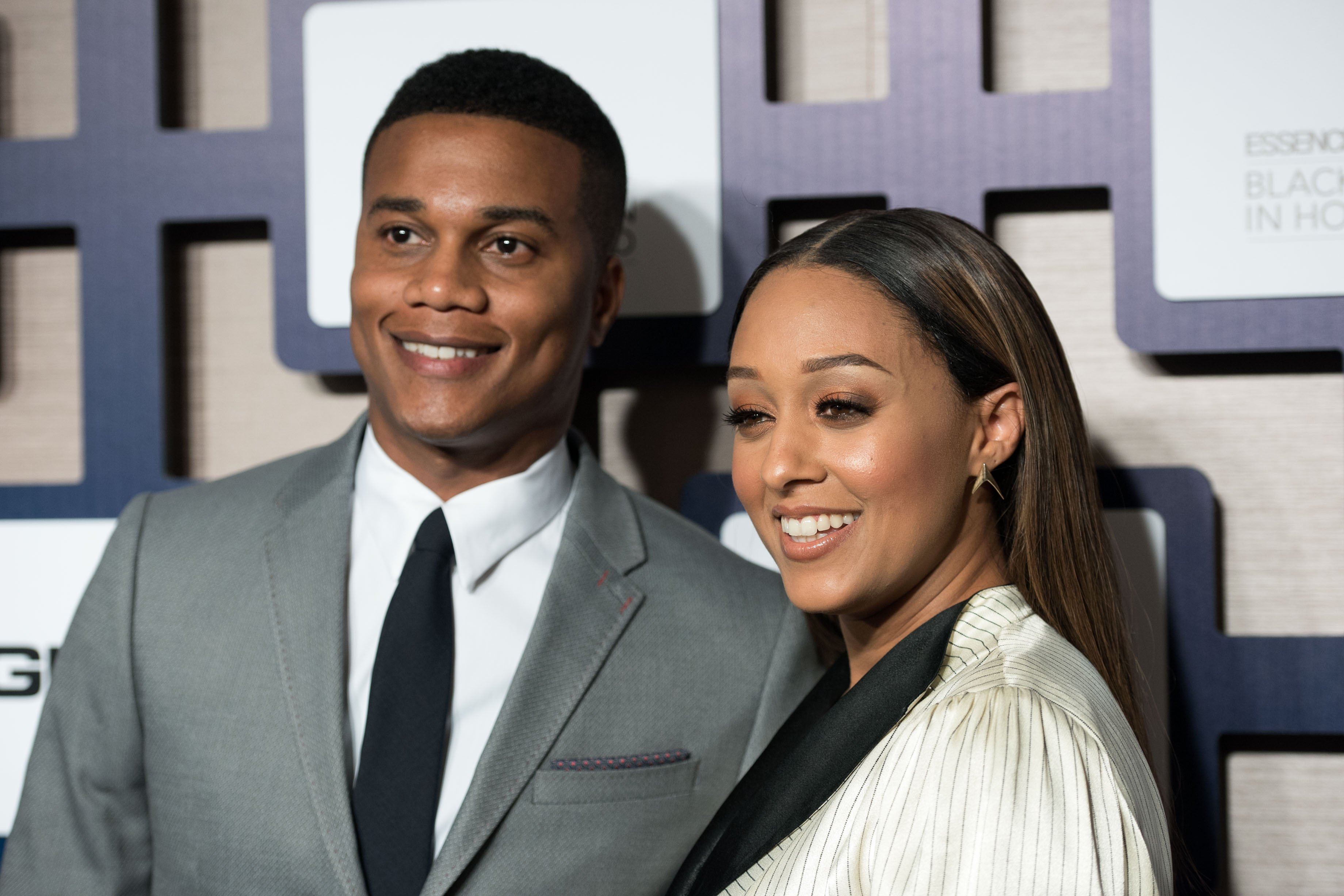 Cory Hardrict and Tia Mowry at the 8th Annual ESSENCE Black Women In Hollywood Luncheon on February 19, 2015, in Beverly Hills, California.   Source: Getty Images