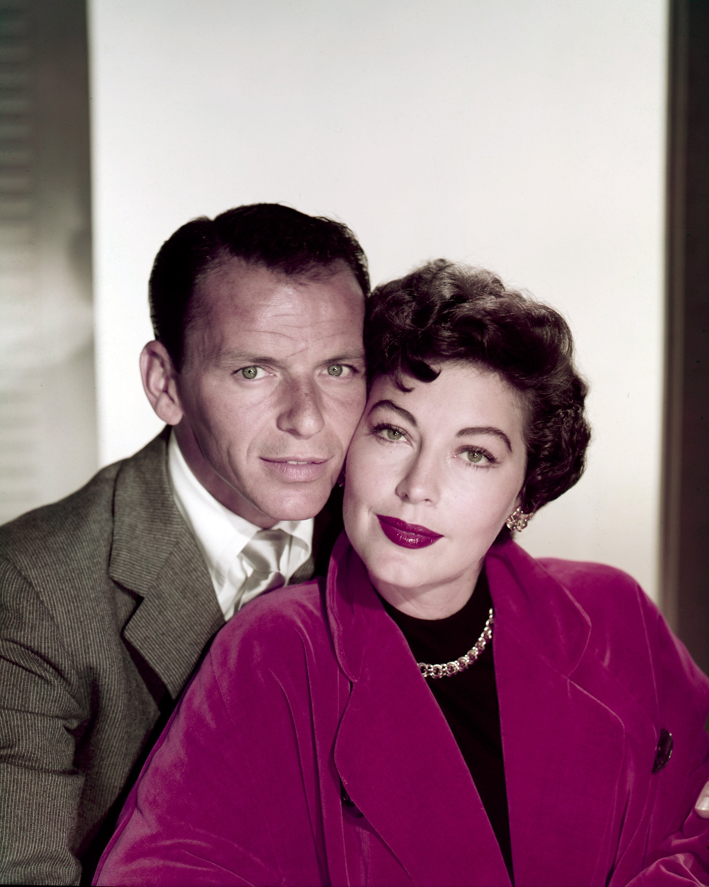 American actors and singers Frank Sinatra (1915 - 1998) and Ava Gardner (1922 - 1990), circa 1953 | Photo: Getty Images
