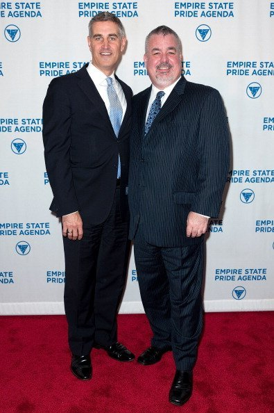 Daniel O'Donnell and John Banta attend the Empire State Pride Agenda's 20th Anniversary fall dinner at the Sheraton New York Hotel & Towers on October 27, 2011, in New York City.   Source: Getty Images.