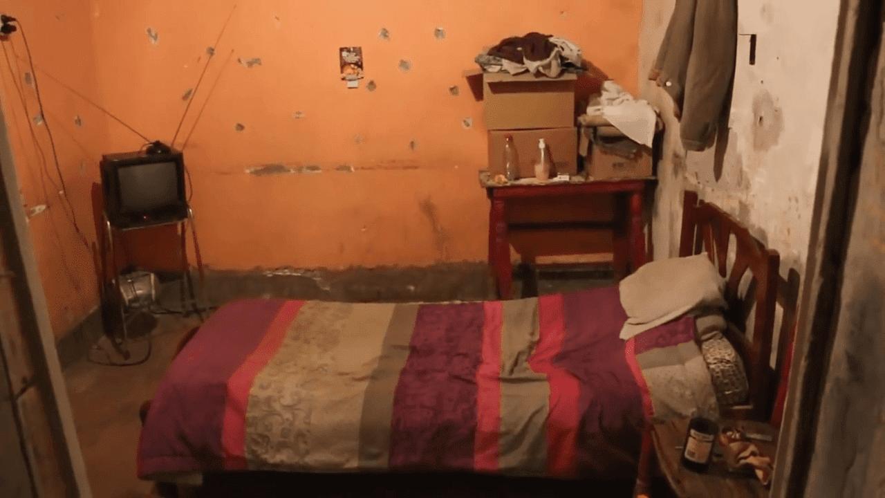 Une vue de la chambre de Jorge del Carmen Aguilera. | YouTube/Tiempo De San Juan
