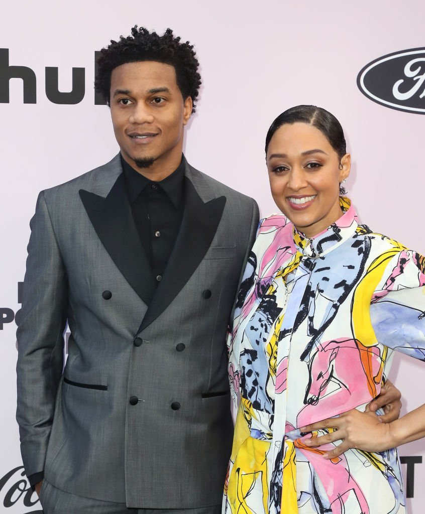 Cory Hardrict and Tia Mowry-Hardrict attend the 13th Annual Essence Black Women In Hollywood Awards Luncheon on February 06, 2020. | Source: Getty Images