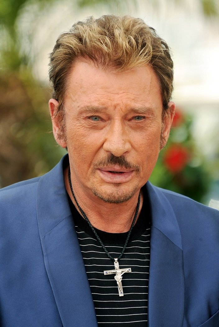 Le chanteur Johnny Hallyday | Photo: Getty Images.