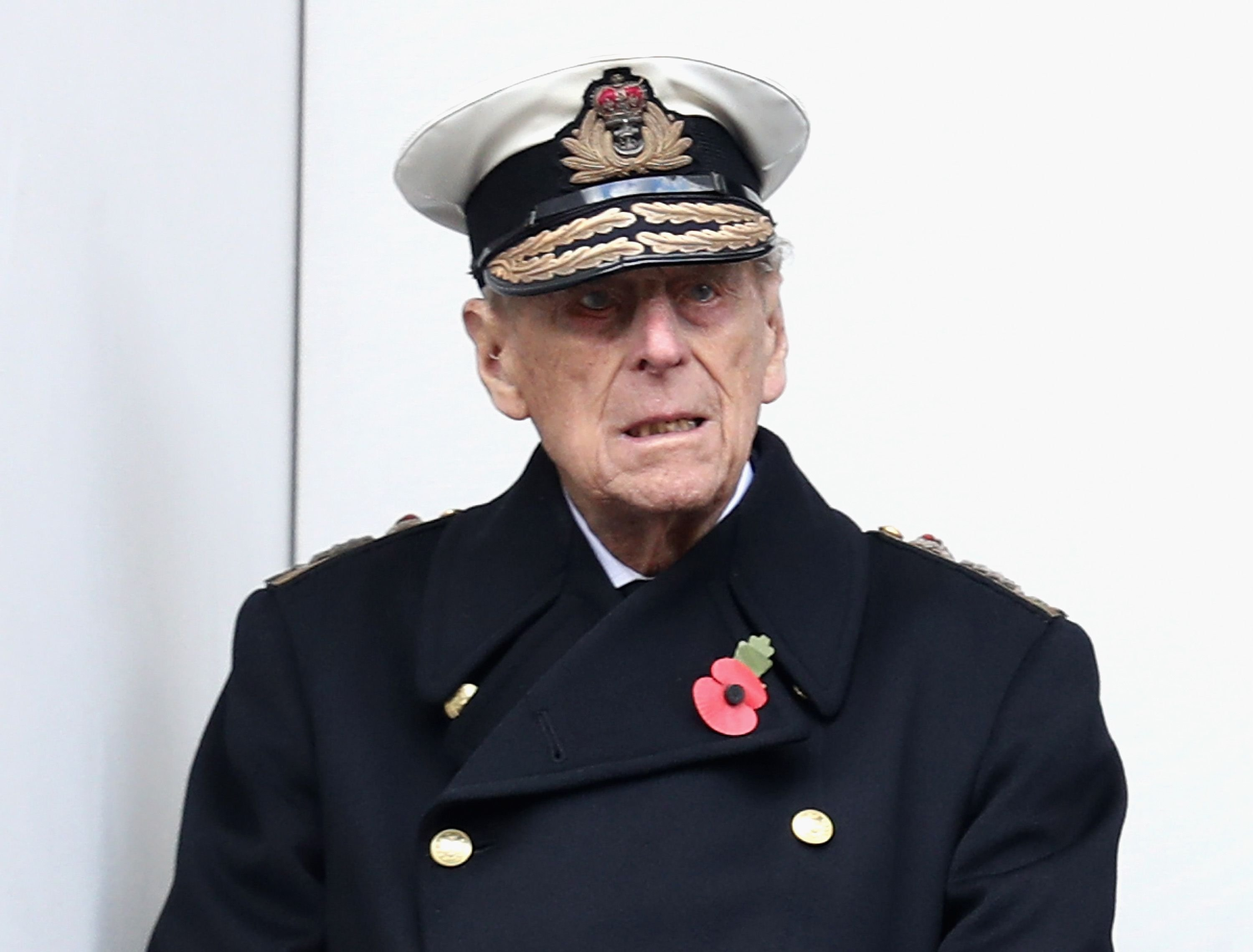 Prince Philip during the annual Remembrance Sunday memorial on November 12, 2017 | Getty Images