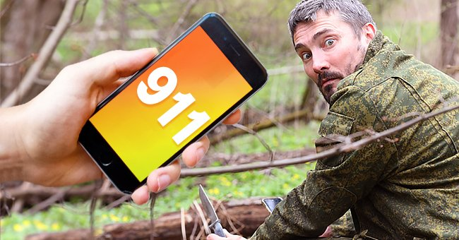 Daily Joke: One Hunter Calls 911 after His Friend Collapsess