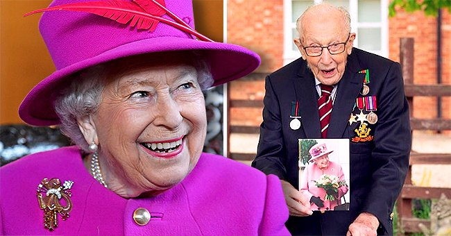Queen Elizabeth Sends Birthday Wishes to WWII Vet Tom Moore Who Raised Millions for Charity