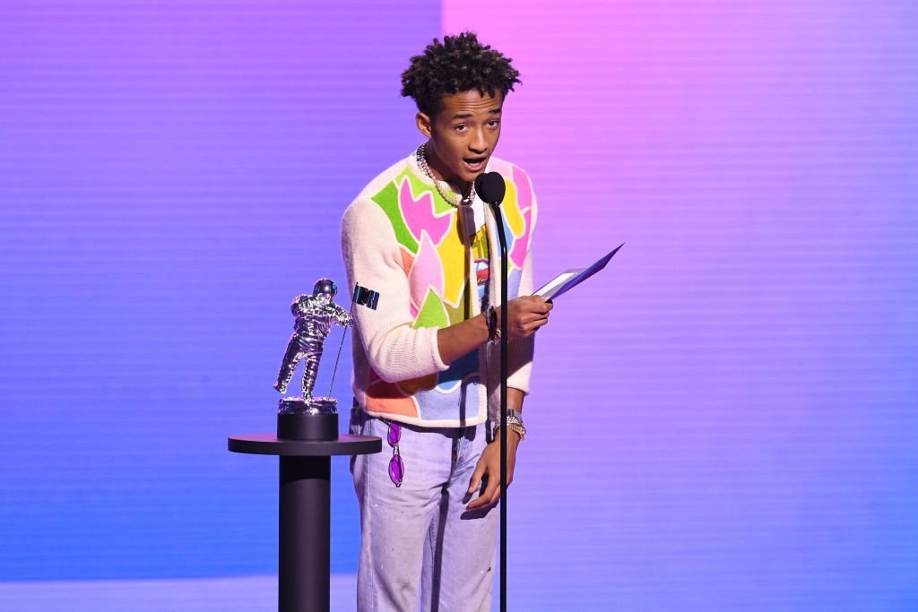 Jaden Smith speaks onstage during the 2020 MTV Video Music Awards on August 2020 | Photo: Getty Images