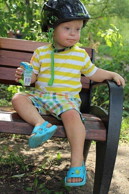 Niño con síndrome de Down. Fuente: Pixabay