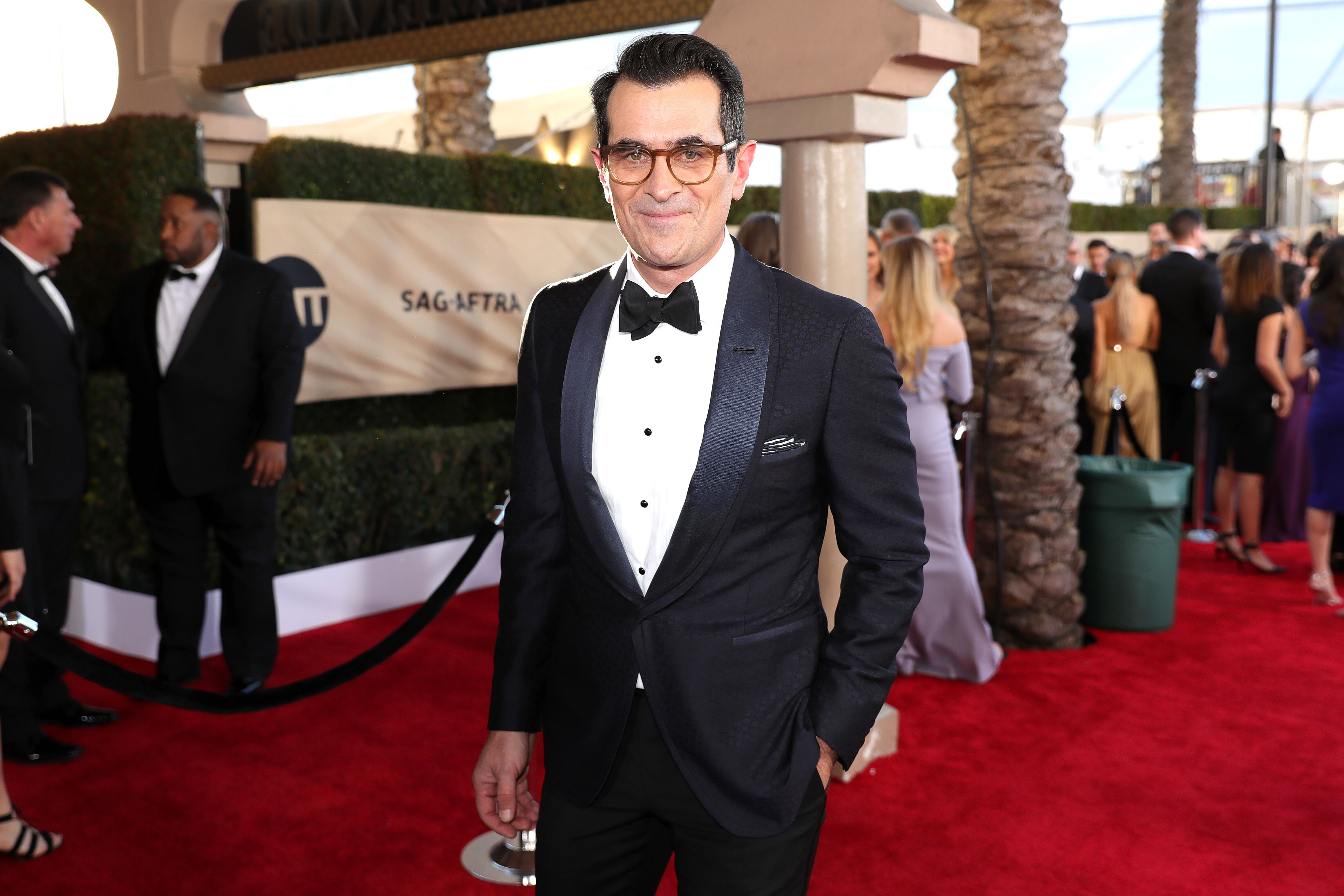 Ty Burrell at the 23rd Annual Screen Actors Guild Awards in 2017 in Los Angeles   Source: Getty Images