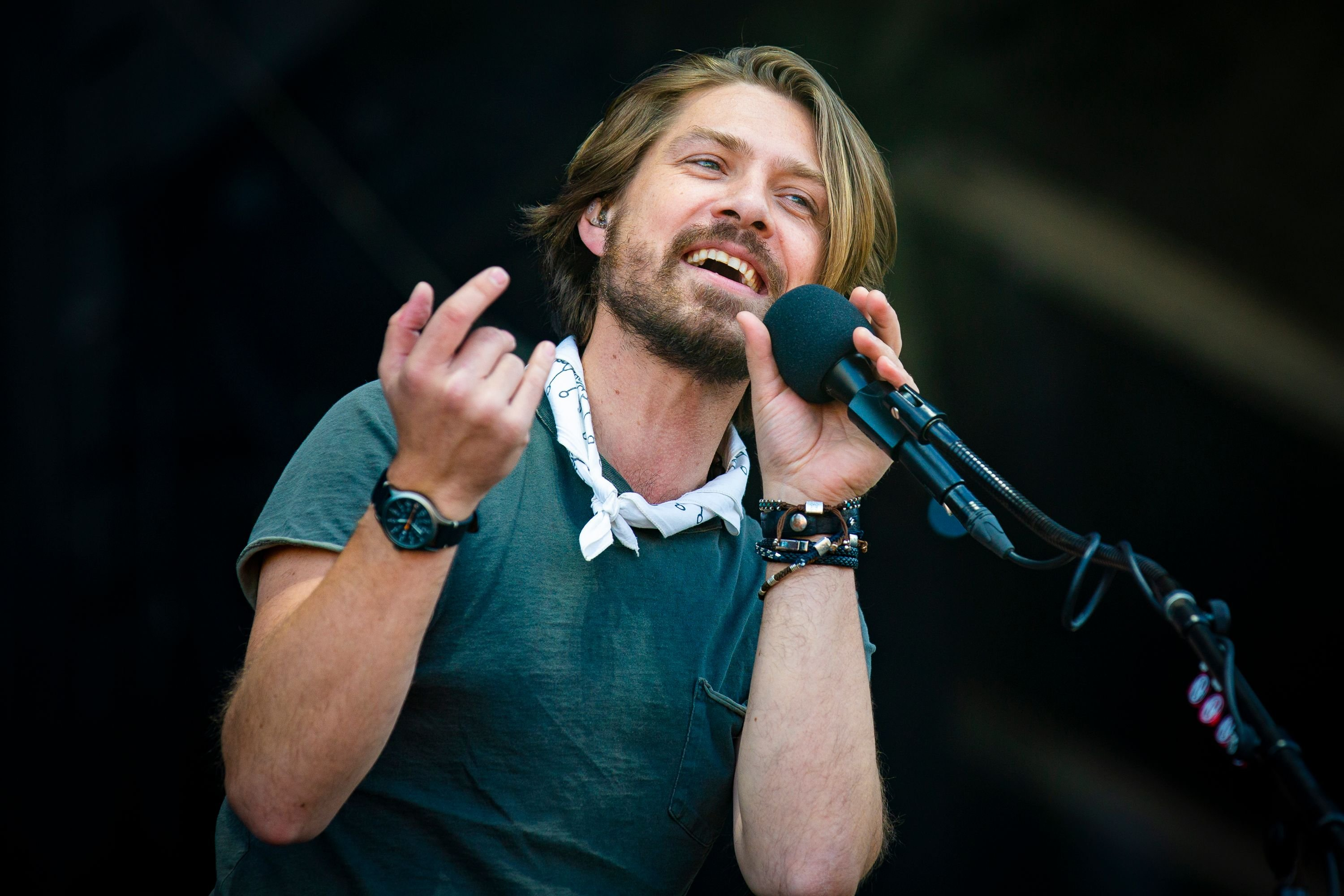 Taylor Hanson of Hanson performs at the RBC Bluesfest at LeBreton Flats on July 6, 2018 | Photo: Getty Images