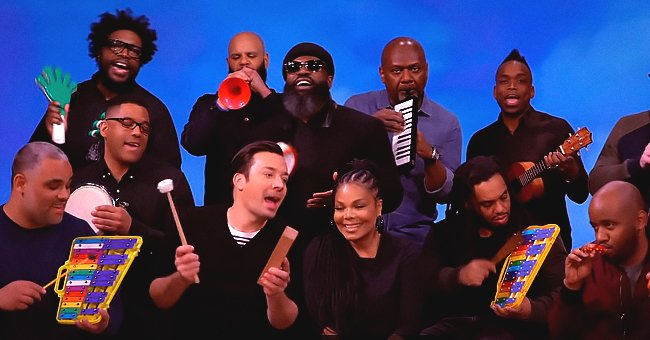 Janet Jackson Performs 'Runaway' with Jimmy Fallon & The Roots on 'The Tonight Show'