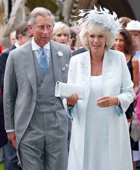 Prince Charles and Camilla, Duchess of Cornwall at St Nicholas Church on September 10, 2005 in Rotherfield Greys, England.   Photo: Getty Images