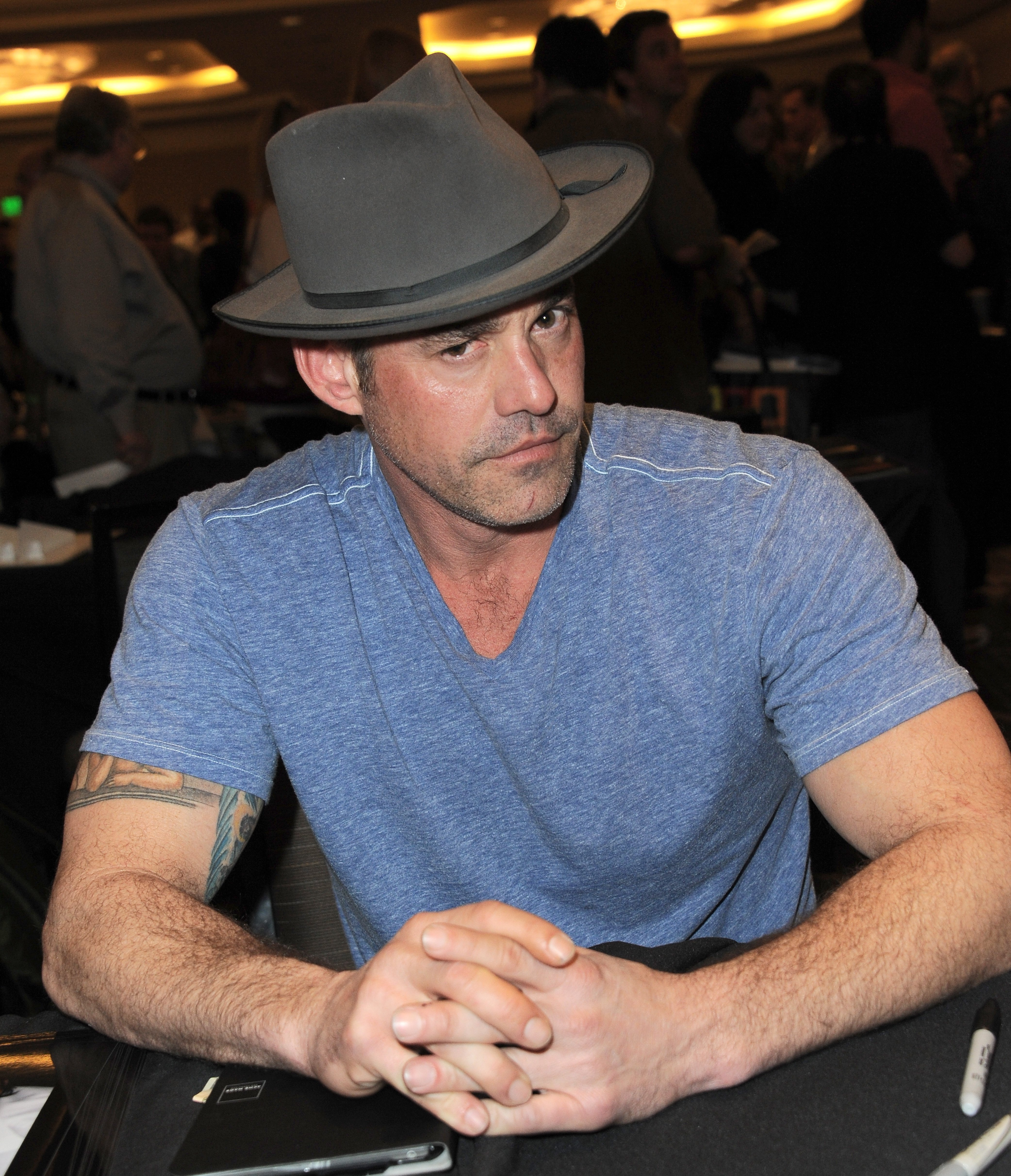 Nicholas Brendon attends The Hollywood Show in Los Angeles, California on January 24, 2015 | Photo: Getty Images