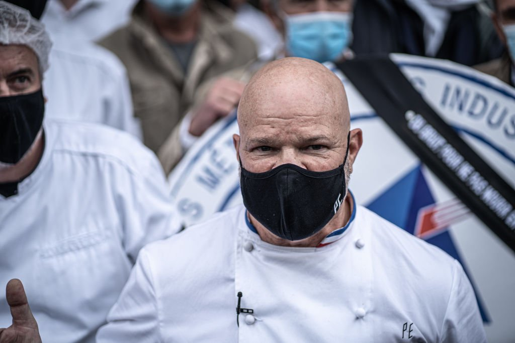 Le chef Philippe Etchebest. | Photo : Getty Images