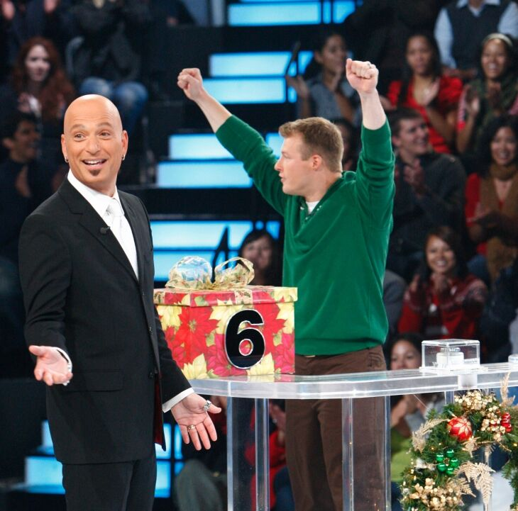 "Howie Mandel as the host on ""Deal or No Deal""