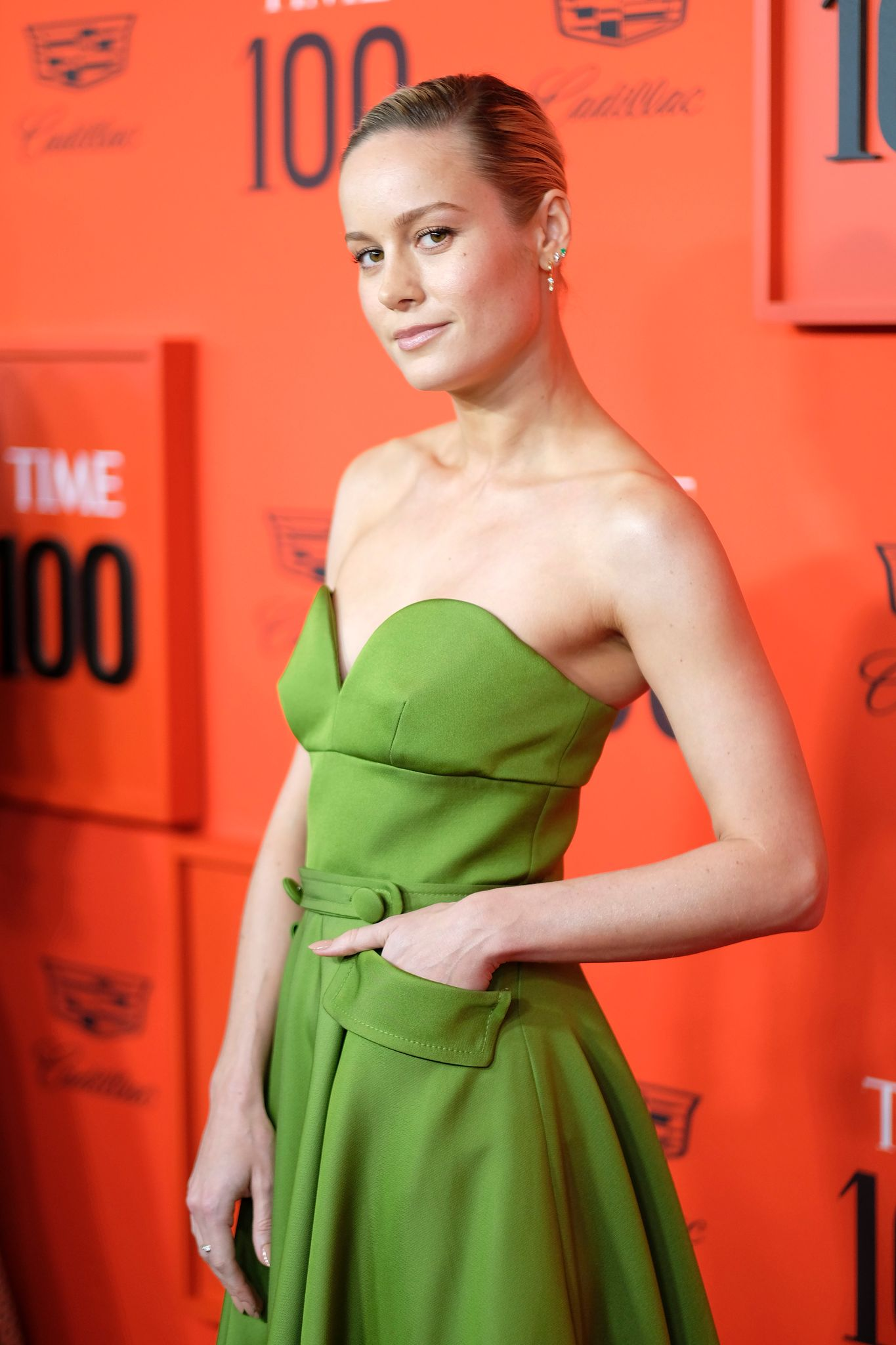 Brie Larson at Lincoln Center on April 23, 2019 in New York City.   Photo: Getty Images