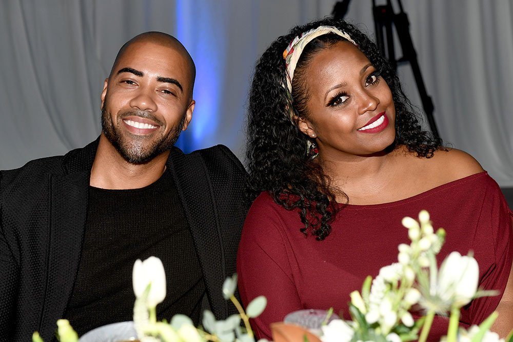 """Brad James and Keshia Knight Pulliam pose for a photo as Belvedere Vodka and Janelle Monae present """"A Beautiful Future"""" at The Fairmont on December 05, 2019 in Atlanta, Georgia. I Image: Getty Images."""