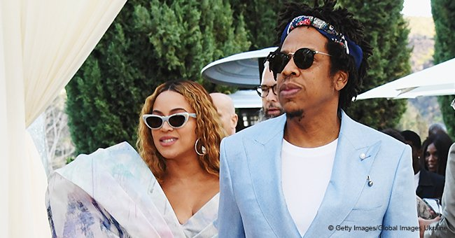 Beyoncé & Jay-Z dress up in pastel looks for pre-Grammys brunch but skip the 2019 award ceremony