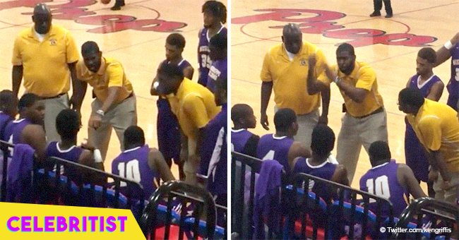 Basketball coach's passionate sign language pep talk went viral in 2018