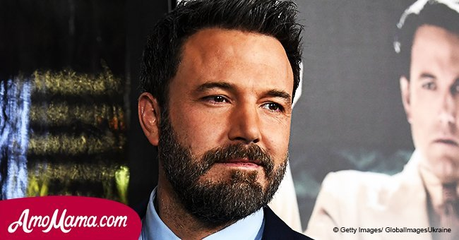 Ben Affleck shares a cute family moment with his 6-year-old son while teaching him how to steer