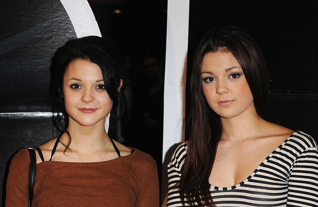 Kathryn and Megan Prescott at the UK Film Premiere of 'Jackass 3D' at the BFI IMAX on November 2, 2010 | Photo: Getty Images
