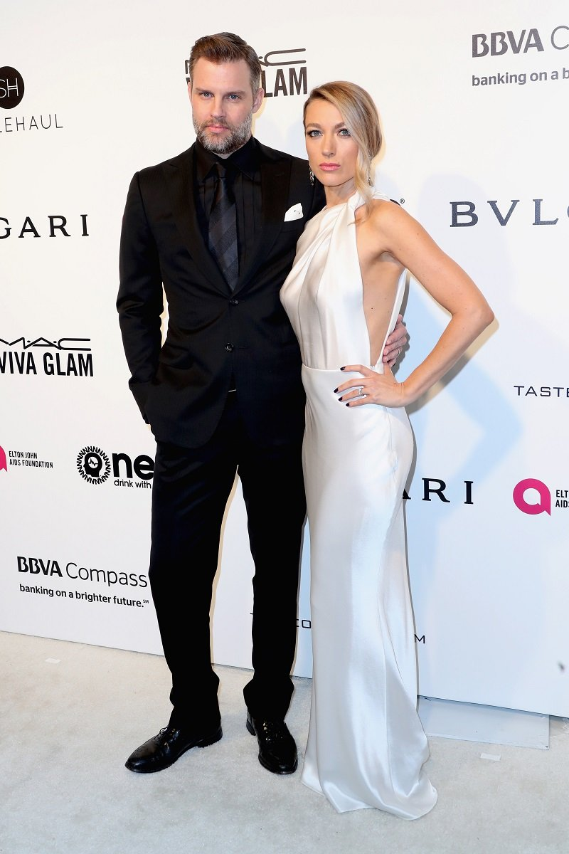 Travis Schuldt and Natalie Zea on February 26, 2017 in West Hollywood, California   Photo: Getty Images