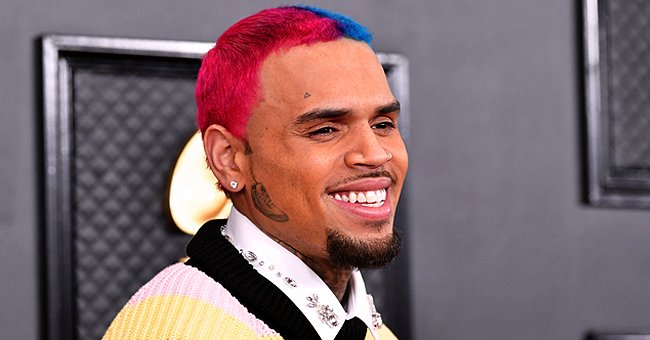 Chris Brown's 7-Month-Old Baby Son Aeko Is His Spitting Image in a Beautiful Close-up Photo