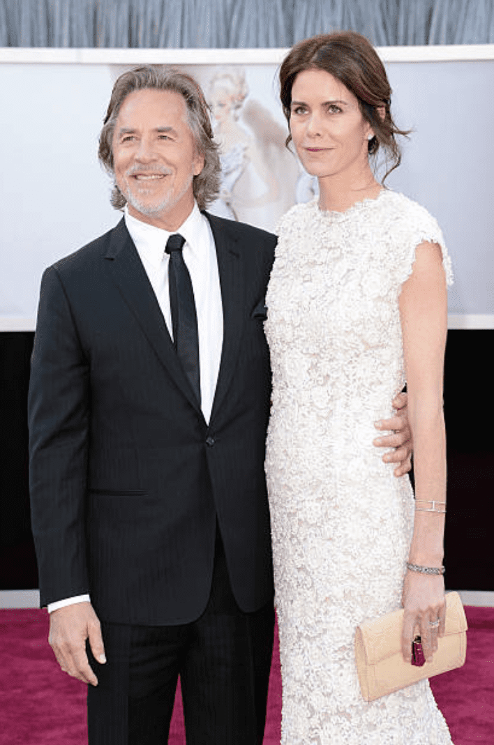 Don Johnson and Kelley Phleger arrive at the 85th Annual Academy Award, California | Getty Images
